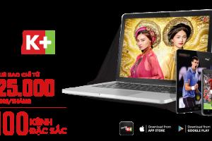 Gói Myk+  Now 100 kênh (Truyền hình di động)